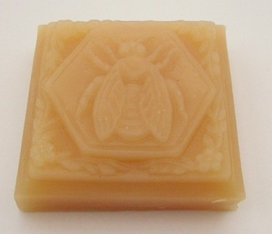 Honey and Beeswax Soap Large Bee