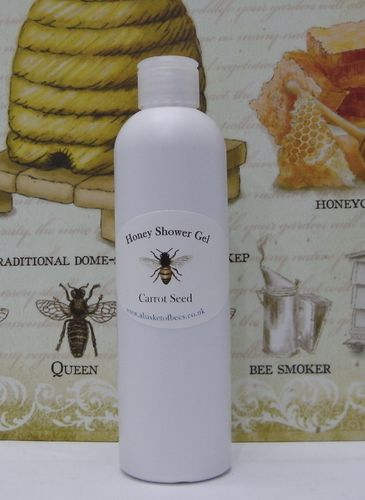 Honey Shower Gel  Carrot seed