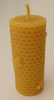 Beeswax Pillar candles - Bee Pillar